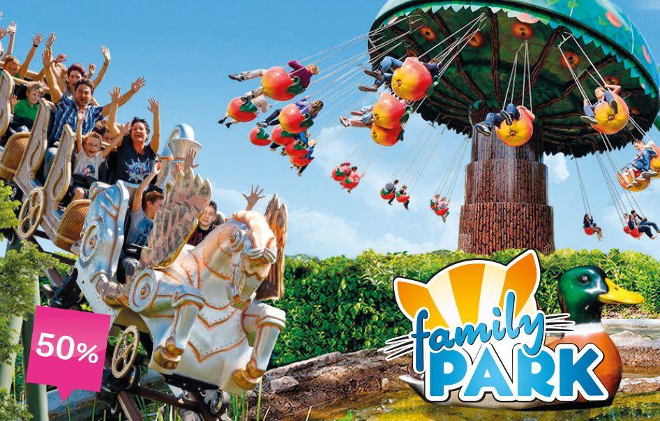 Kinder toben sich im Family Park aus